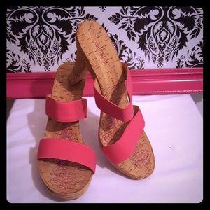 (Never worn) Mule open-toe  high heel sandals